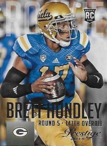 2015 Panini Prestige Football Base 212 Brett Hundley