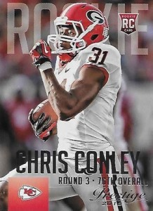 2015 Panini Prestige Football Base 217 Chris Conley