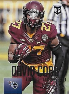 2015 Panini Prestige Football Base 224 David Cobb