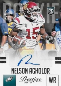 2015 Panini Prestige Football Rookie Signatures Agholor
