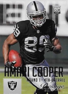 Amari Cooper Rookie Card Gallery and Checklist 17
