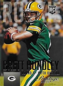 2015 Panini Prestige Football Variation 212 Brett Hundley