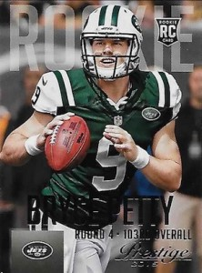 2015 Panini Prestige Football Variation 214 Bryce Petty
