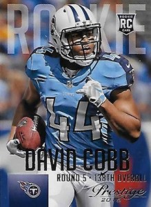 2015 Panini Prestige Football Variation 224 David Cobb