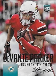 2015 Prestige Football Base 229 DeVante Parker