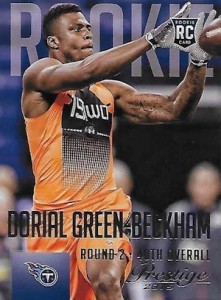 2015 Prestige Football Base RC 233 Dorial Green-Beckham