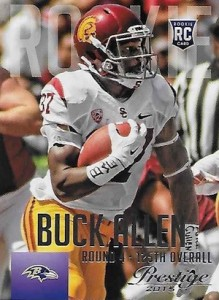 2015 Prestige Football Base RC 246 Buck Allen