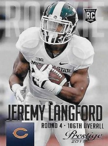 2015 Prestige Football Base RC 248 Jeremy Langford