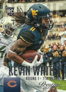 2015 Prestige Football Base RC 258 Kevin White