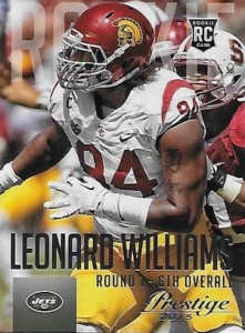 2015 Prestige Football Base RC 261 Leonard Williams