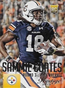 2015 Prestige Football Base RC 280 Sammie Coates