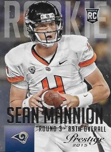 2015 Prestige Football Base RC 281 Sean Mannion
