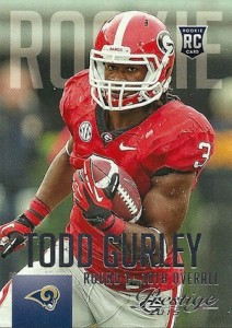 2015 Prestige Football Base RC 291 Todd Gurley