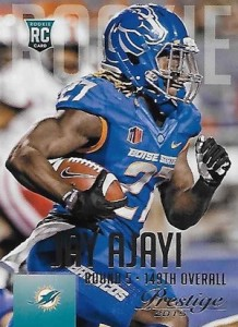 2015 Prestige Football Base RC Ajayi