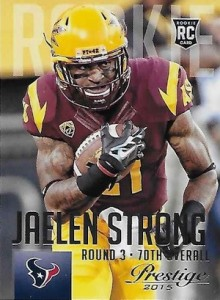 2015 Prestige Football Base RC Jaelen Strong