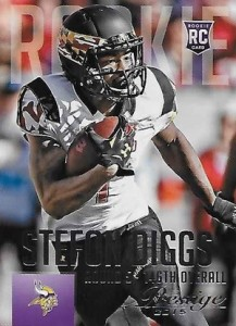 2015 Prestige Football Base RC Stefon Diggs