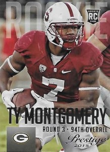 2015 Prestige Football Base RC Ty Montgomery