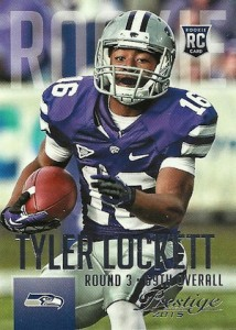 2015 Prestige Football Base RC Tyler Lockett