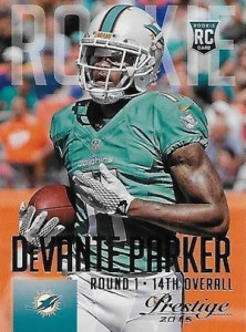 2015 Prestige Football Variation 229 DeVante Parker