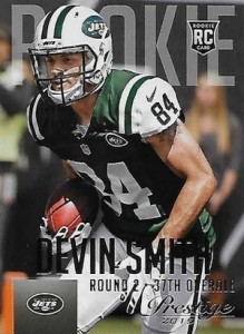 2015 Prestige Football Variation 231 Devin Smith