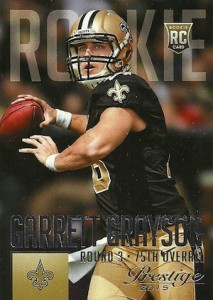 2015 Prestige Football Variation RC 240 Garrett Grayson