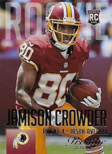 2015 Prestige Football Variation RC 245 Jamison Crowder