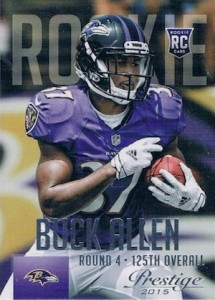 2015 Prestige Football Variation RC 246 Buck Allen