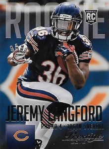 2015 Prestige Football Variation RC 248 Jeremy Langford