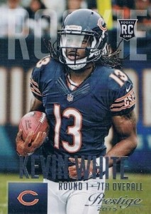 2015 Prestige Football Variation RC 258 Kevin White