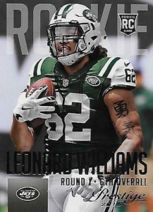2015 Prestige Football Variation RC 261 Leonard Williams