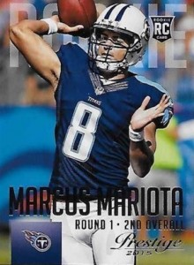 2015 Prestige Football Variation RC 264 Marcus Mariota