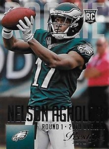 2015 Prestige Football Variation RC 272 Nelson Agholor
