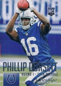 2015 Prestige Football Variation RC 276 Phillip Dorsett
