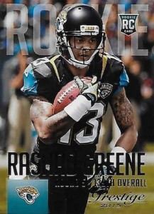 2015 Prestige Football Variation RC 278 Rashad Greene