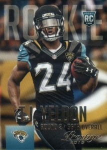 2015 Prestige Football Variation RC 287 T.J. Yeldon