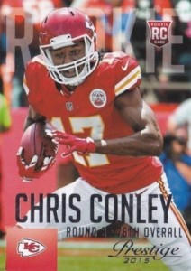 2015 Prestige Football Variation RC Chris Conley