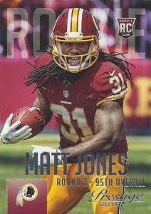 2015 Prestige Football Variation RC Matt Jones