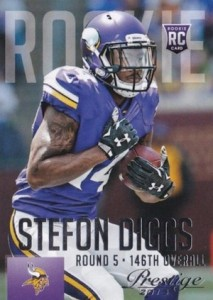 2015 Prestige Football Variation RC Stefon Diggs
