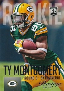 2015 Prestige Football Variation RC Ty Montgomery