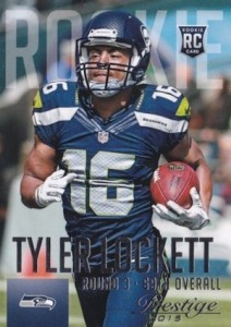 2015 Prestige Football Variation RC Tyler Lockett