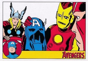2015 Rittenhouse Avengers Silver Age Base