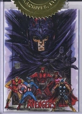 2015 Rittenhouse Avengers: Silver Age Trading Cards 32