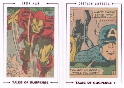 2015 Rittenhouse Avengers Silver Age Cut Archive Tales of Suspense Dual