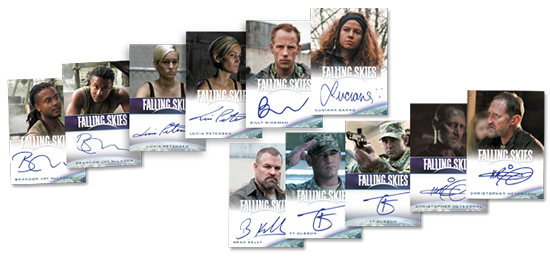 2015 Rittenhouse Falling Skies Autograph Expansion Set 1