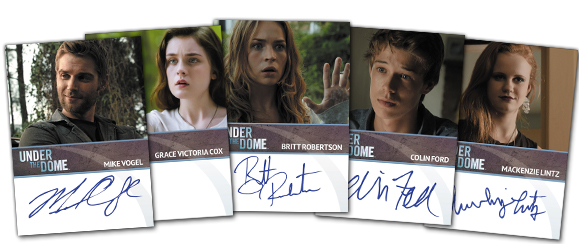 2015 Rittenhouse Under the Dome Season 2 Autographs