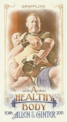 Unannounced 2015 Topps Allen & Ginter Mini Inserts Have a Healthy Focus 12