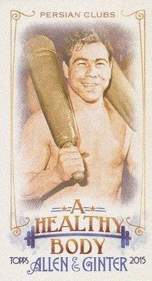 Unannounced 2015 Topps Allen & Ginter Mini Inserts Have a Healthy Focus 8