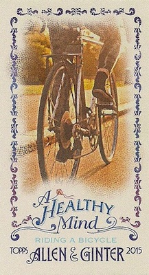 Unannounced 2015 Topps Allen & Ginter Mini Inserts Have a Healthy Focus 14