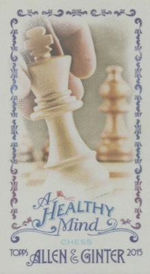 Unannounced 2015 Topps Allen & Ginter Mini Inserts Have a Healthy Focus 22