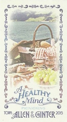 Unannounced 2015 Topps Allen & Ginter Mini Inserts Have a Healthy Focus 15